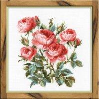 Набор для вышивания садовые розы