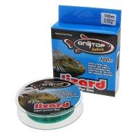 Леска капрон lizard зеленая d=0,28 мм, 100 м, 8,25 кг