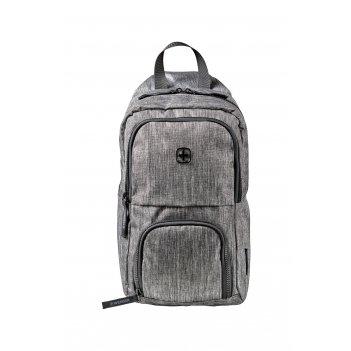 Рюкзак wenger с одним плечевым ремнем, темно-cерый, полиэстер, 19 х 12 х 3