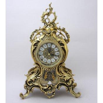 Часы из бронзы ласу с маятником (bp-27094-d)