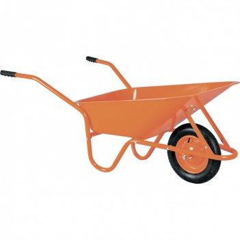 Тачка садово-строительная тсо-02, крашенный кузов, пневмоколесо, грузоподъ