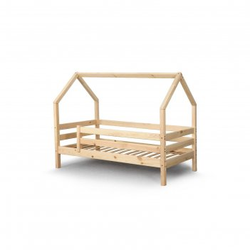 Кровать домик соня 1900х800 прозрачный лак
