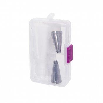 Кондитерский мешок с насадками, l10,5 w6,5 h2 см
