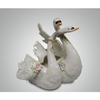 Статуэтка пара лебедей