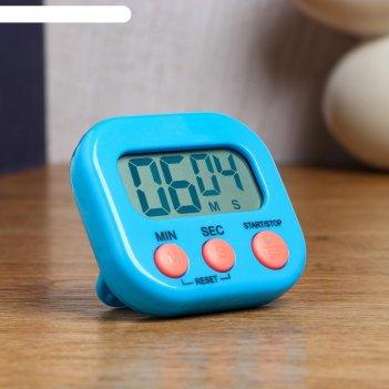 Часы кухонные электронные антарес, с таймером, на магните, 1 ааа, 7х2х6.5
