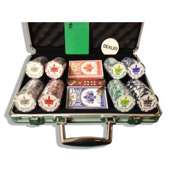 Empire 200 профессиональный набор для покера на 200 фишек