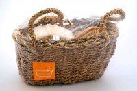 Набор st- 6750 д/ванной в плетеной корзине (10/20)