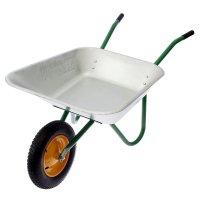Тачка садовая, одноколёсная (груз/п 80 кг, объём 85 л, пневмоколесо 380 мм