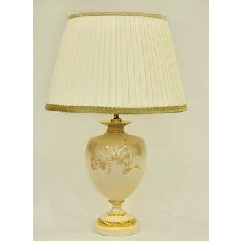 Настольная лампа большая нефрит
