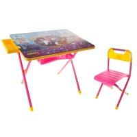 Набор детской мебели дэми 2. карлсон складной: стол, стул и пенал, цвет ро
