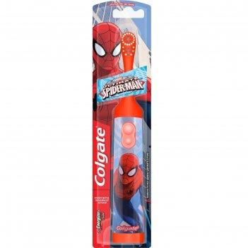 Зубная щётка электрическая детская colgate barbie spiderman