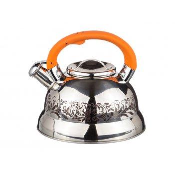 Чайник со свистком, 3л, нжс, индукционное дно