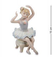 Cms-19/24 фигурка маленькая балерина (pavone)