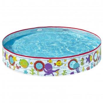Бассейн детский круглый (не надувной), 152 х 25 см, 340 л