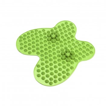 Коврик массажный рефлексологический для ног bradex «релакс ми», цвет зелен