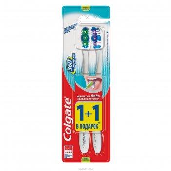 Зубная щётка colgate 360 «суперчистота всей полости рта», 2 шт.