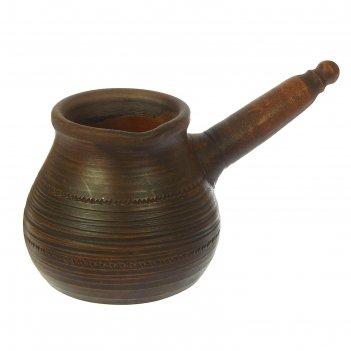 Турка гончарная  декор