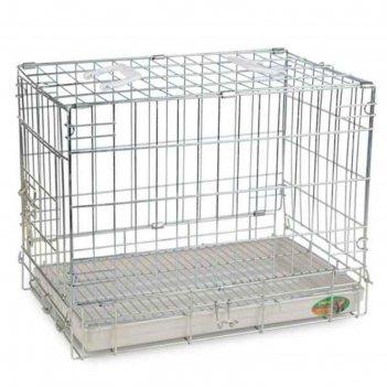 Клетка triol для животных, 51 х 33 х 40 см, хром