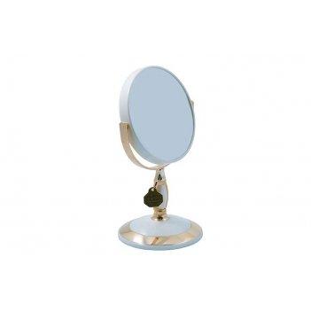 Зеркало* b4906 per/g wpearl&gold настольное 2-стор. 3-кр.ув