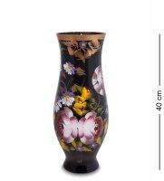 Vz-569 ваза стеклянная жостово h-400 (амфора)