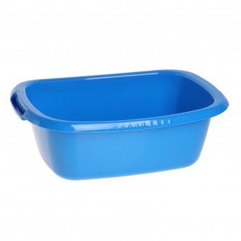 Таз овальный 11 л водолей, цвет синий