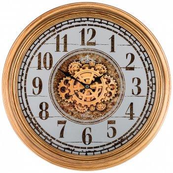 Часы настенные кварцевые диаметр 46 см диаметр циферблата 38,2 см (кор=8шт