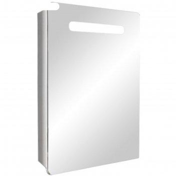 Шкаф-зеркало донна 70 с подсветкой левое