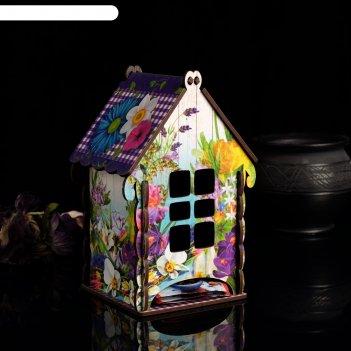 Чайный домик фиолетовое настроение