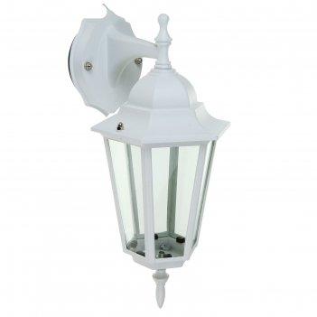 Светильник tdm 6060-22 садово-парковый шестигранник, 60вт, вниз, белый