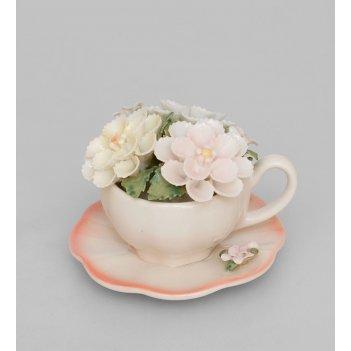 Cms-33/42 композиция чаша весенние цветы (pavone)