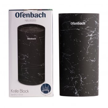 Подставка для ножей ofenbach nb 100205