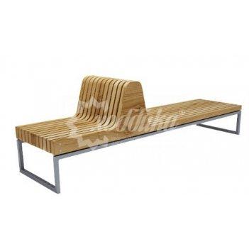 Скамейка со спинкой «долиум»
