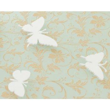 Дополнительные порхающие бабочки белые 3 шт.