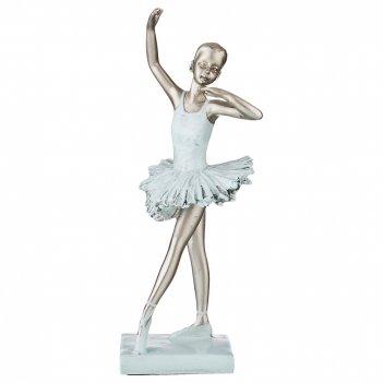 Статуэтка балерина 10*9,5*23,5 см. серия фьюжн (кор=24шт.)