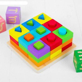 Пирамидка логическая тренируем логику