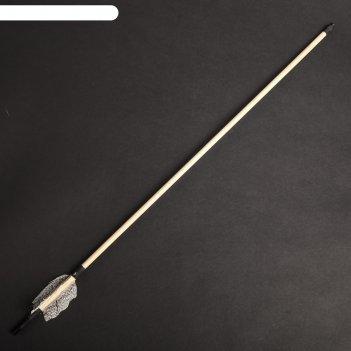 Стрела для лука деревянного традиционный и фигурный, массив сосны, 75 см