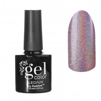 Лак для ногтей голография, цвет 08-012 светло-розовый
