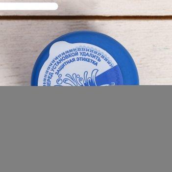 Пробка трёхкомпонентная для пэт бутыли, с термостикером