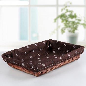 Корзина для хранения пикник 30х20х6 см