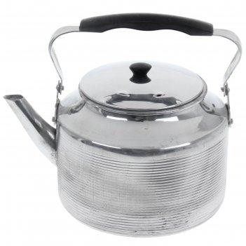 Чайник 4 л полированный