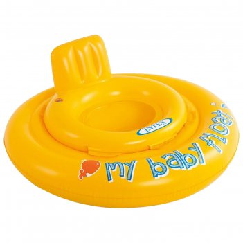 Круг для плавания с сиденьем my baby float 76 см, от 1 года до 2 лет