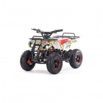 Детский электро квадроцикл motax atv х-16 1000w мини-гризли, бомбер, больш