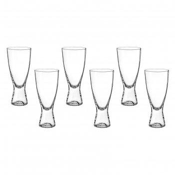 Набор стаканов для пива 350 мл 6 шт самба