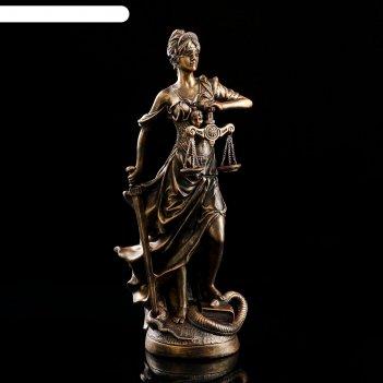 Статуэтка фемида №2 бронза 54 см