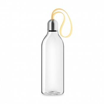Бутылка плоская для воды lemon, объем: 500 мл, материал: нержавеющая сталь
