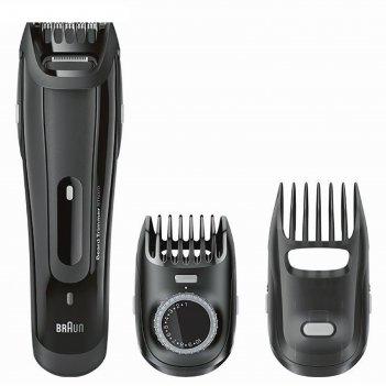 Триммер для бороды и усов braun bt5070, 6 вт, 2 насадки, от аккумулятора,