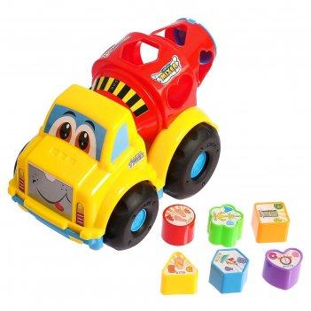 Развивающая игрушка-сортер «бетономешалка», микс