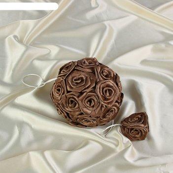 Подвес универсальный шар двойной шоколад