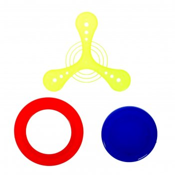 Бумеранг, набор 3 шт., цвета микс