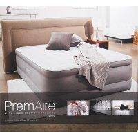Кровать надувная premaire queen с встроенным насосом 220v, 152х191х46 см